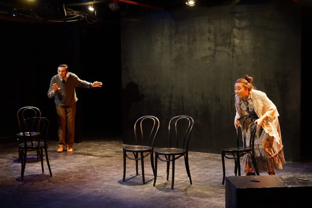 THE CHAIRS by Eugene Ionesco, directed by Coleman Ray Clark