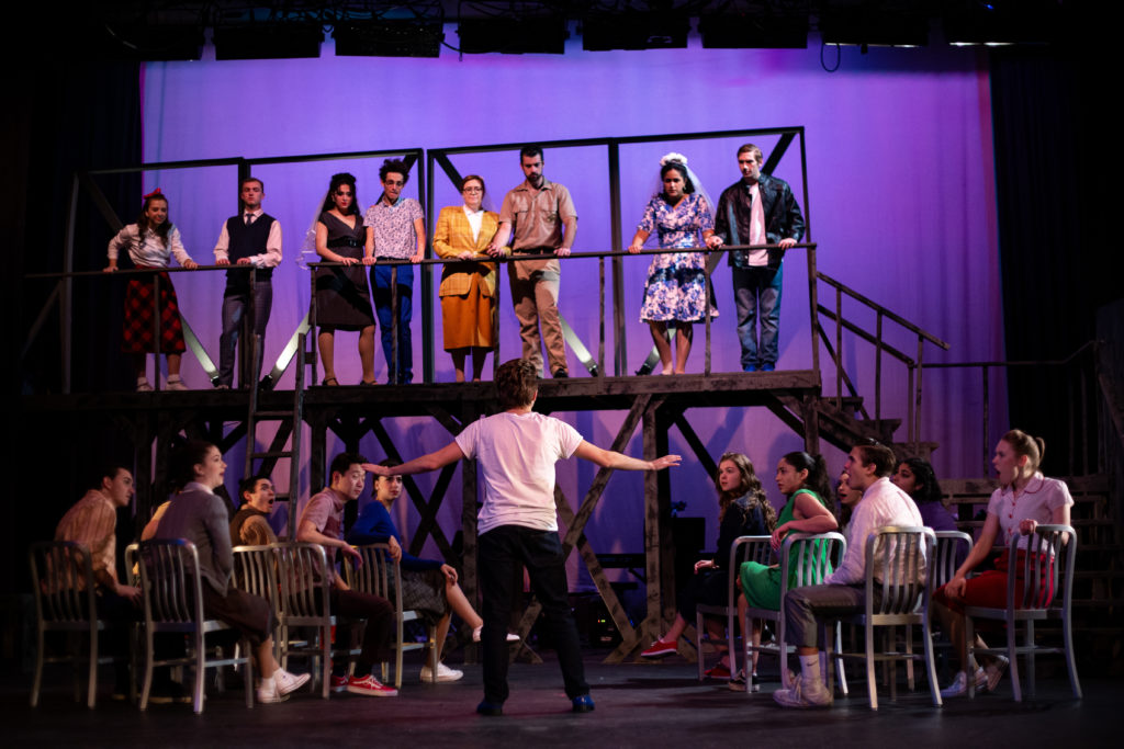 ALL SHOOK UP, directed by Coleman Ray Clark; Fordham Mimes and Mummers 2019.